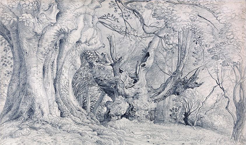 Samuel-Palmer-Ancient-Trees-Lullingstone-Park